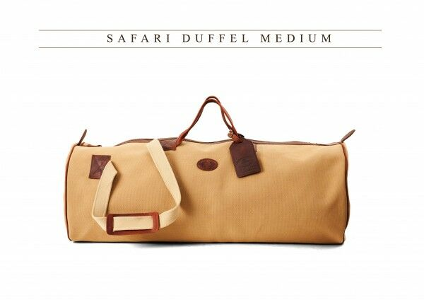 Mellvin & Moon Safari Duffel Medium Canvas