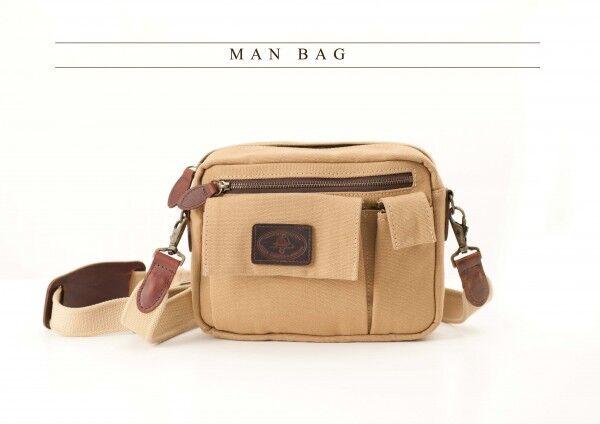 Melvill & Moon Man Bag Canvas