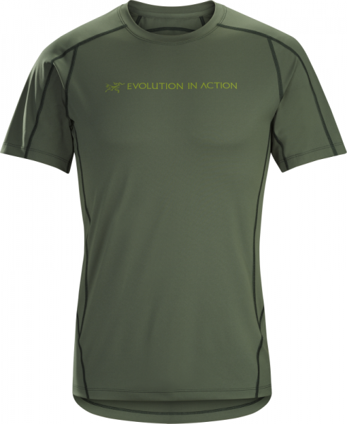 Arcteryx Phasic Evolution Crew Neck Shirt SS Men's Cypress