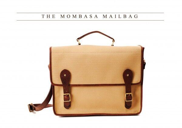 Melvill & Moon Mombasa Mail Bag Canvas